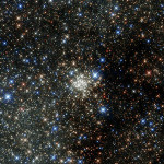 The most crowded place in the Milky Way